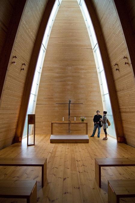 Capela de Arte Ecumênica do Santo Henrique / Sanaksenaho Architects