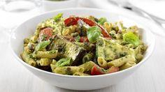 Verse pasta met geroosterde groenten en pesto | VTM Koken