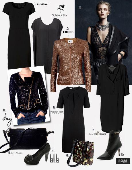 Den lille sorte - og skønne accessories!