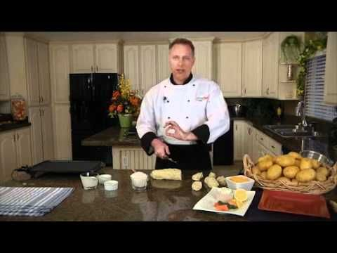 Chef Bryan makes Lefsa. You can learn how to make Lefsa too! Watch this great video tutorial from Klondike Brand Potatoes!
