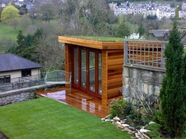 17 best images about sheds and cottages on pinterest for Shed roof cottage
