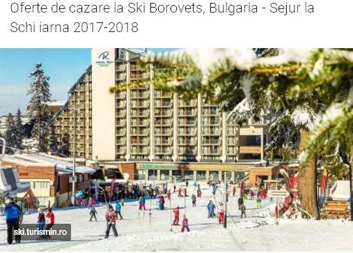Rila hotel Borovets se afla in centrul statiunii, la 10-50 metri de pistele de schi si la 200 de metri de telegondola. INFORMATII GENERALE: Hotelul a fost construit in anul 1986 si renovat in anul 2017.