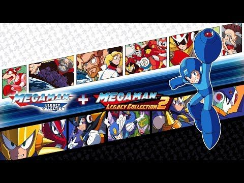 Mega Man Legacy Collection 1 + 2 slide on to Nintendo Switch on May 22, 2018