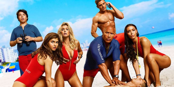 Baywatch Cast.