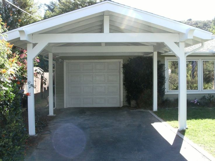 carport modern garage and on carport plans attached to
