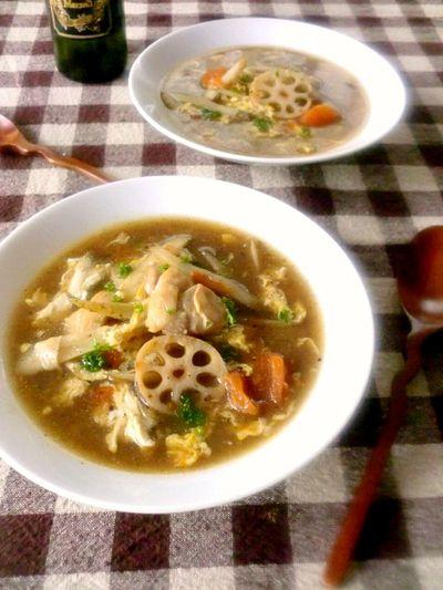 鶏肉とごぼうのバルサミコスープ by ゆりりんさん | レシピブログ ...