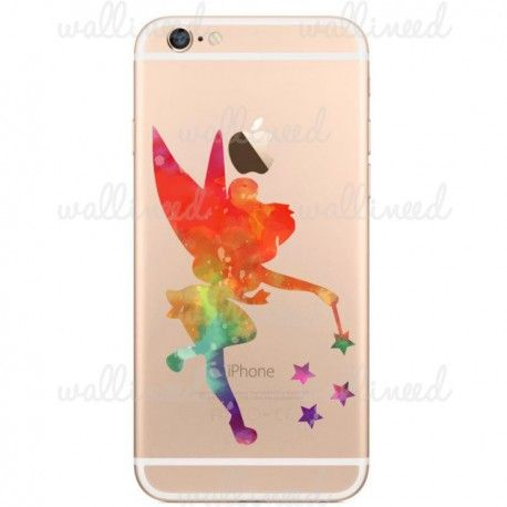 Tinkerbell Watercolor iPhone 6 Sticker