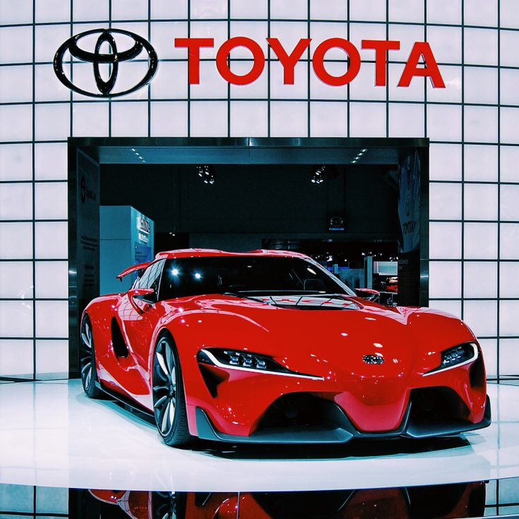 Attractive Toyota FT 1 Concept At NYIAS