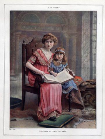 Jeanne Lanvin 1911 Photo Nadar, Children, Kids  #TuscanyAgriturismoGiratola