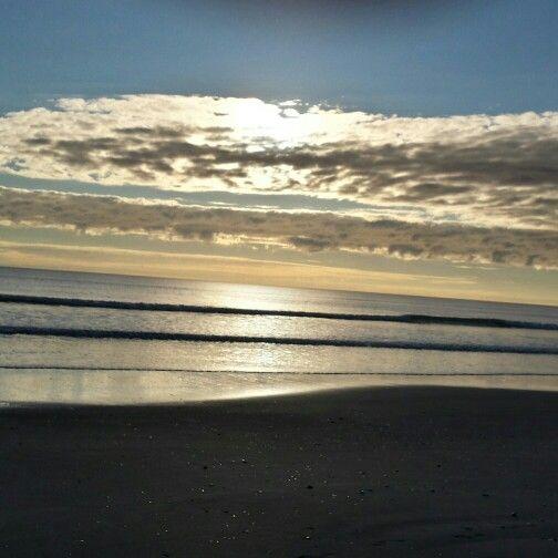 #newzealandbeach #clouds #waves