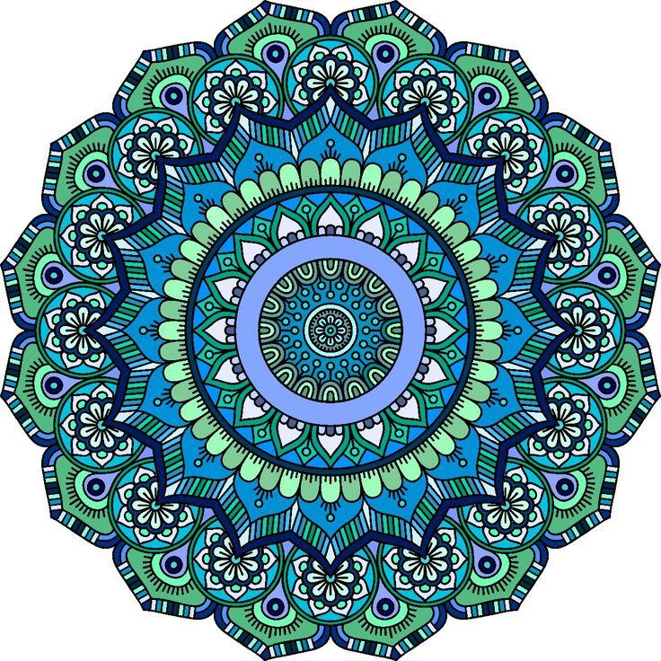 1429 best Mandala Mania images on Pinterest | Mandalas, Paisley ...