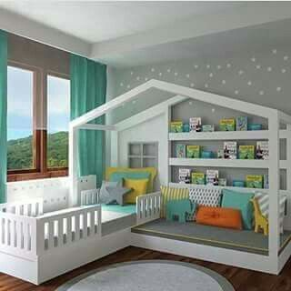 Cute kids bed