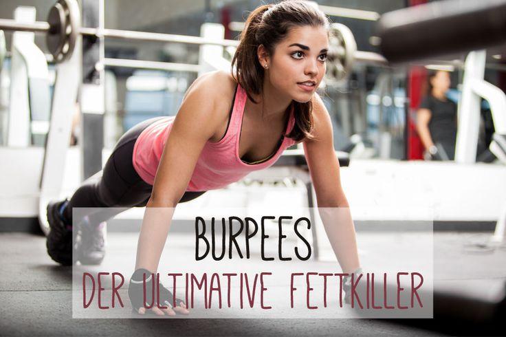 Burpees sind wahre Alleskönner. Sie trainieren deine Muskeln, verbrennen Kalorien und stärken dein Herz-Kreislaufsystem.