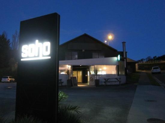 SoHo Bar Restaurant, Gisborne  www.sohobar.co.nz