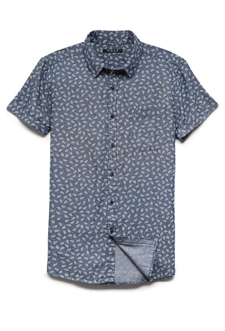 I know it's for men but, it's super cute and I'd wear it! Short Sleeve Botanical Shirt | 21 MEN #F21Spring #21Men