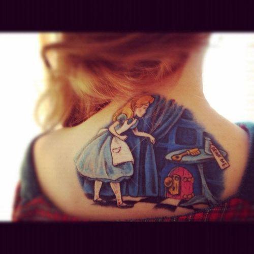 54 best alice in wonderland tattoos images on pinterest for Higgins ink tattoo