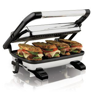 Conventional sandwiches are too boring; period. The Proctor Silex Panini Press can spice up your cuisines and give you delicious panini pressed sandwiches that will make you forget about all kinds of junk food.