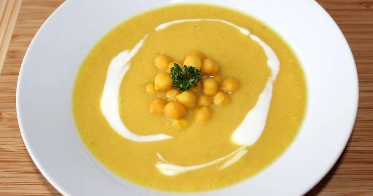 Mennyei Csicseriborsó krémleves recept! Egy finom, forró leves nagyon jól tud esni a hideg téli napokon. Ezt a csicseriborsó krémleves receptet csak ajánlani tudom, érdemes kipróbálni. :)