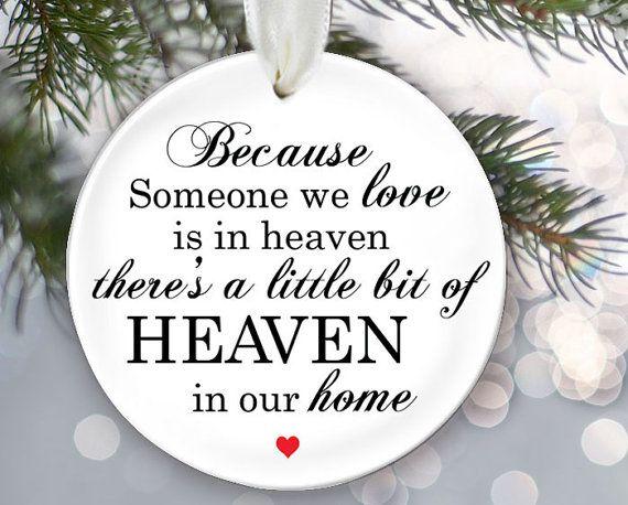 Memory Christmas Ornaments