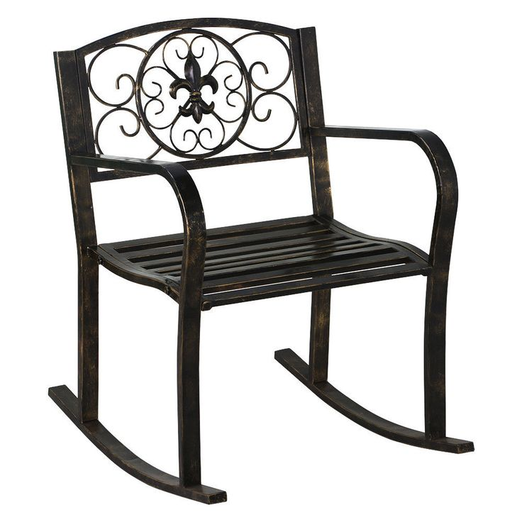 Best 25 Metal Rocking Chair ideas on Pinterest