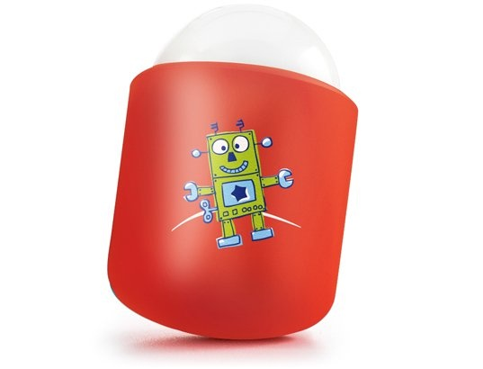 Veilleuse nomade PABOBO Nomade Robot rouge