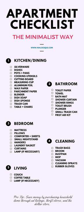 Best 25 minimalist apartment ideas on pinterest for Living room essentials list