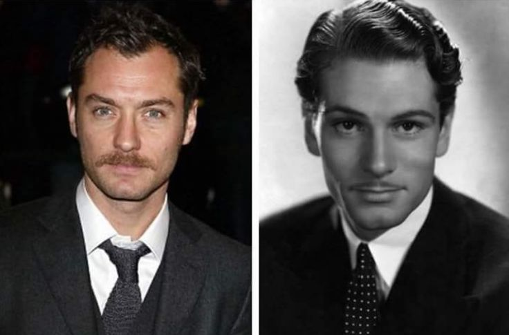 "Jude Law and young Michael Gambon (Dumbledore). They look very similar, isn't it? Jude Law has been tapped to play young Dumbledore in the ""Fantastic Beasts and Where to Find Them"" sequel."