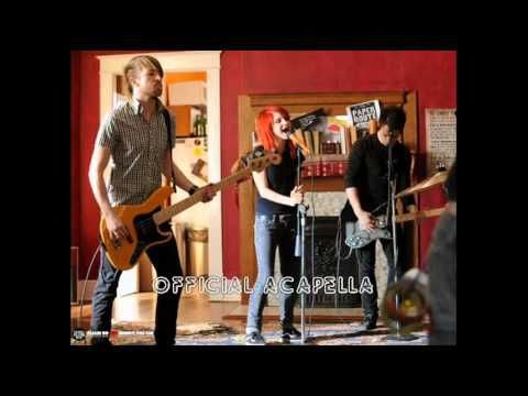 Paramore - That's What You Get studio vocal track