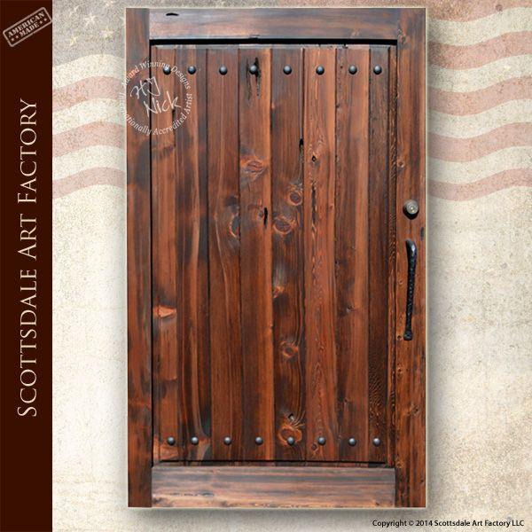 Garden Gate Solid Wood, Hand Crafted Gate For Gardens, Yard, Entrance,  Estate