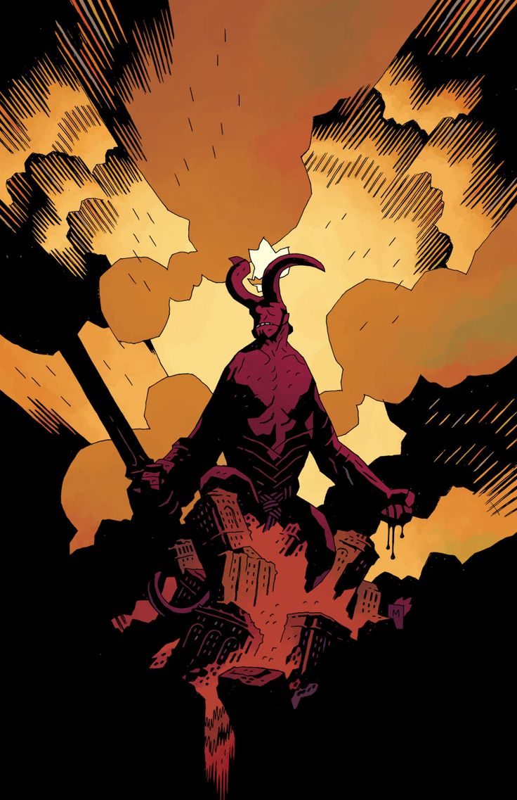 Mignola rocksComics Art, Artists, Drawing Art, Comics Book, Wild Hunting, Mike Mignola, Hellboy, M Mignolart, Backgrounds Image