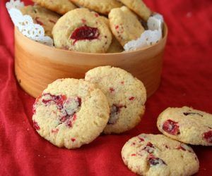 Cranberry Ginger Butter Cookies 2 @dreamaboutfood
