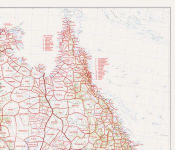 Interactive Map - Tribal Boundaries in Aboriginal Australia - Norman B Tindale - South Australian Museum