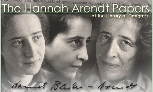 he papers of the author, educator, and political philosopher Hannah Arendt (1906-1975) are one of the principal sources for the study of modern intellectual life. Located in the Manuscript Division at the Library of Congress, they constitute a large and diverse collection reflecting a complex career.