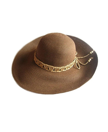 Wide Brim Straw Bow Hat $84.00