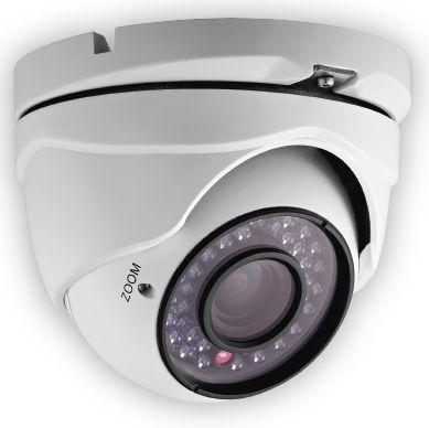 Cámara tipo domo lente varifocal con luz infrarrijo. Pregunta por nuestros combos www.telesentinel.com