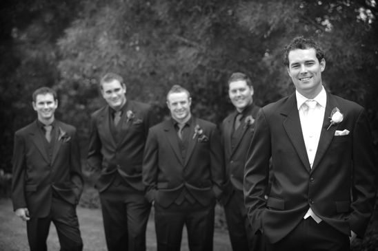 The groom with his groomsmen - Newcastle Wedding Photographer on the Central Coast by Impact Images www.impact-images.com.au #impactimagesnsw