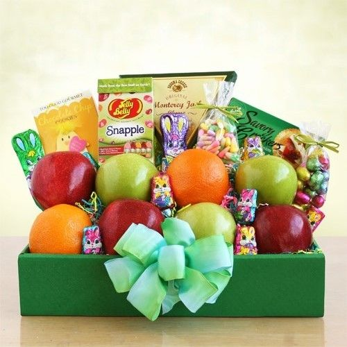 29 best easter gifts and baskets from la bella baskets fine gifts fresh and fruity easter box send springtime in a box with this fabulous easter gift negle Images