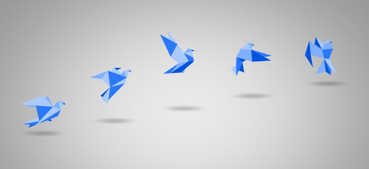 Better Presentations with PowerPoint Slides in Origami Style