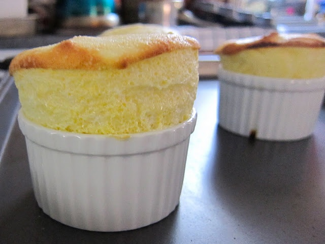 Goat Cheese Souffles for 2 | Young Idealistic Baker Blog | Pinterest