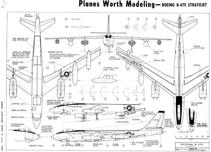 b 10 2th scale  boeing stratojet   in the beginning