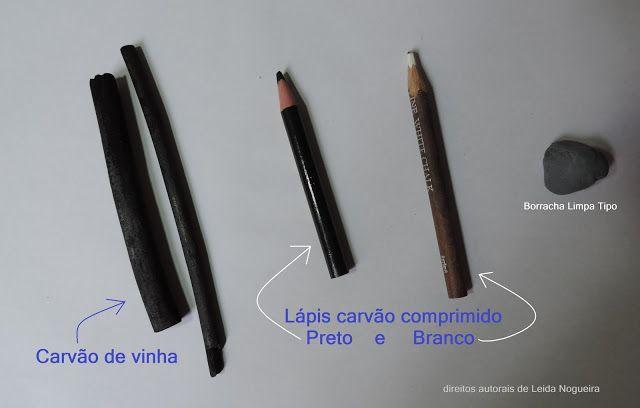 Desenho Artístico: Como desenhar como carvão vegetal.