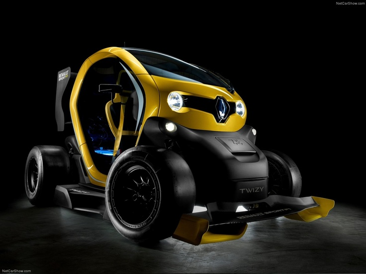 Amazing Beau 2013 Renault Twizy RS F1 Concept