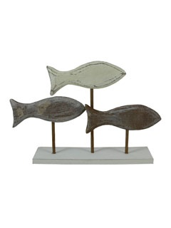 wooden fish - would love for my bathroom
