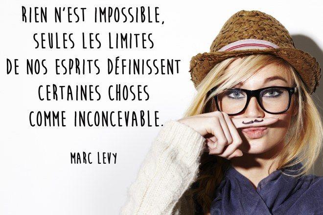 Citation amour impossible de Marc Levy                                                                                                                                                     Plus