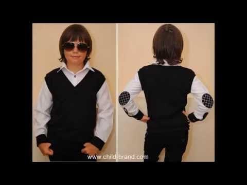 Стильный школьный детский жилет с рубашкой  для мальчика 5 лет 6 лет 7 лет 8 лет 9 лет 10 лет 11 лет - YouTube