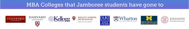 MBA Colleges that Jamboree Students have gone.