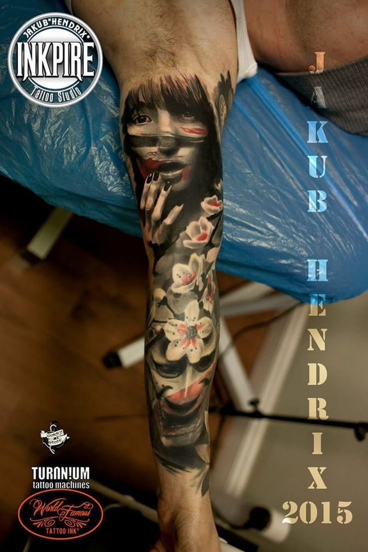 Great oriental full sleeve by Jakub Hendrix Tattoo from Poland ##Tattoos - psyk02mikmak07 - Google+