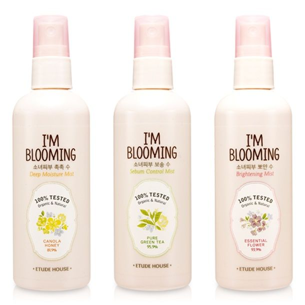 Etude House I'm Blooming Mist. Cute packaging and they also pick the cutest representatives for their adverts.