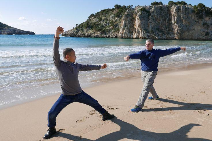 Learn Meihua Quan with Shifu Shi Yan Jun and Shifu Kostas Mathiopoulos in Greece and China, Shaolin Temple. http://kungfushaolins.com
