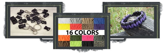 Paracord Store provides everything you need for 550 paracord items and projects --> www.paracordstore.com